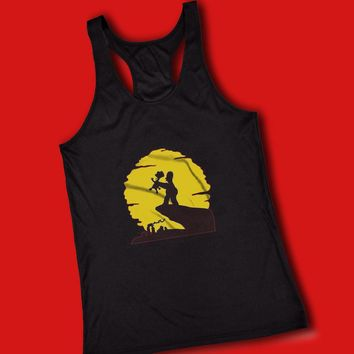 Bart And Homer Lion King Women'S Tank Top