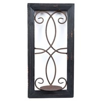 Assorted Black Wood & Metal Wall Candle Holder | Shop Hobby Lobby