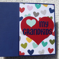 6x6 Grandparent Scrapbook Album