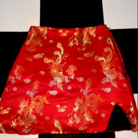 SWEET LORD O'MIGHTY! GONG LI MINI SKIRT