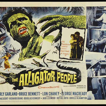 The Alligator People 11x17 Movie Poster (1959)