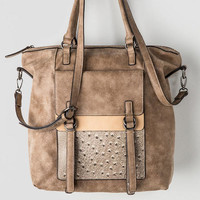 Christiana Ostrich Pocket Tote