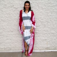 One Sweet Day Duster Kimono, Berry