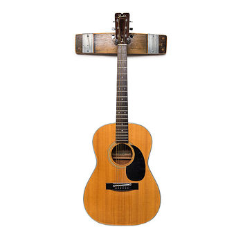 Wine Barrel Guitar Rack | Guitar Wall Mount, Barrel Staves