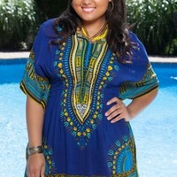 Always For Me Cover Santa Fe Plus Size Tunic - Swimsuit Coverup
