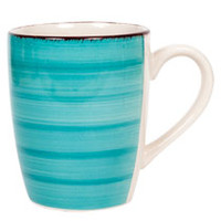 Bulk Royal Norfolk Turquoise Swirl Stoneware Mugs, 12 oz. at DollarTree.com