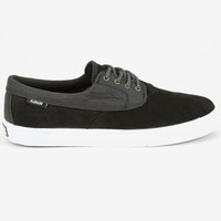 Lakai Camby Mens Shoes Black Suede  In Sizes