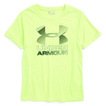 Under Armour Logo Graphic HeatGear® T-Shirt (Toddler Boys & Little Boys) | Nordstrom