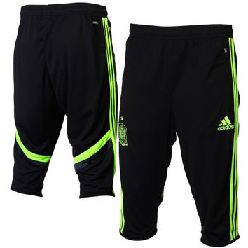 Spain adidas 3/4-Length Training Pants – Black - http://www.shareasale.com/m-pr.cfm?merchantID=7124&userID=1042934&productID=548203600 / Spain