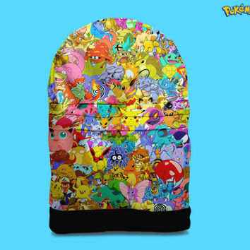 Pokemon backpack bag