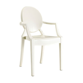 Sweet William Chair in Sheet White