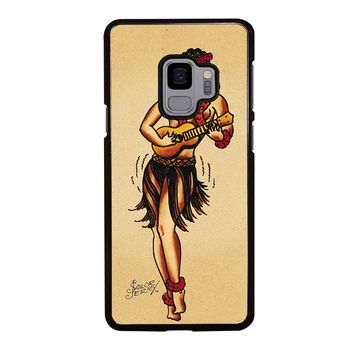 SAILOR JERRY TATTOO HAWAII Samsung Galaxy S3 S4 S5 S6 S7 S8 S9 Edge Plus Note 3 4 5 8 Case