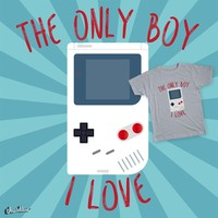The only boy I love on Threadless
