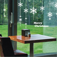 Christmas Living Room Wall Sticker Decoration Glass Stickers [4923116420]