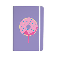 "KESS Original ""Donut You Love Me"" Purple Pink Everything Notebook"