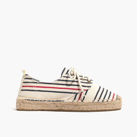 Soludos® Oxford Lace-Up Platform Slipper in Stripe : | Madewell