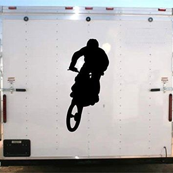 Motorcycle Racing Trailer Decal Vinyl Sticker Auto Decor Graphic Kit Aftermarket Stickers moto00