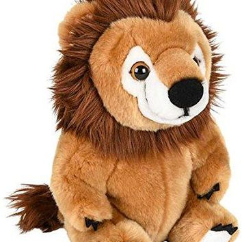 "Wildlife Tree 9"" Stuffed Lion Plush Belly Buddies Animal Heirloom Collection"