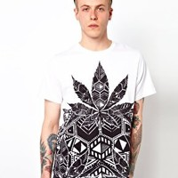 Illustrated People T-Shirt with Reggae Roast Print at asos.com