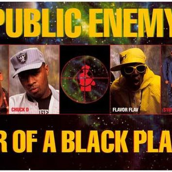 Public Enemy Fear of a Black Planet Poster 11x17