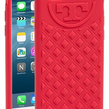 Tory Burch 'Fleming' Pyramid Stud iPhone 6 Case