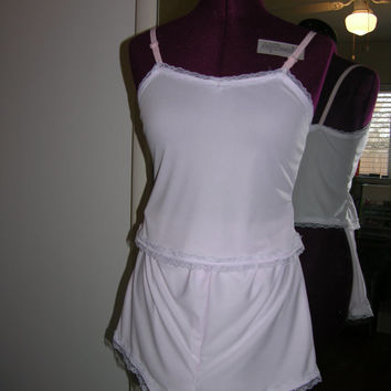 Camisole And Tap Pant Lingerie Set