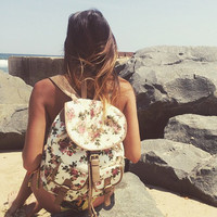 Secret Garden Floral Backpack