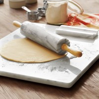 "Sur La Table® White Marble Pastry Board, 16"" x 20"" 
