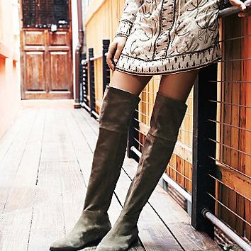 Seychelles Womens Grafton Over the Knee Suede Boot
