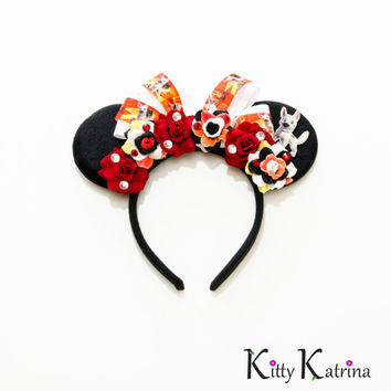 Bolt Disney Ears Headband, Mouse Ears, Mickey Mouse Ears, Minnie Mouse Ears, Disney Headband, Disney Bound, Disneyland, Disney World