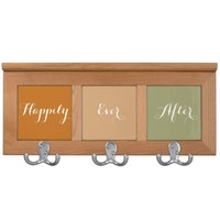 Happily Ever After Coat Rack