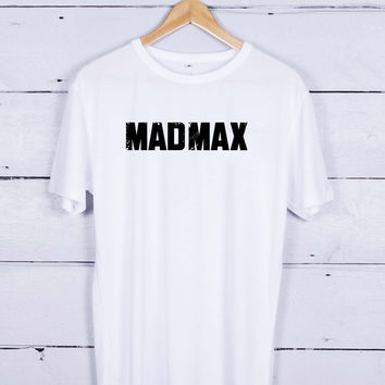 Mad max logo Tshirt T-shirt Tees Tee Men Women Unisex Adults