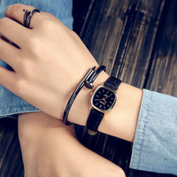 Designer's Gift Trendy New Arrival Awesome Great Deal Good Price Korean Stylish Simple Design Watch [11668136719]