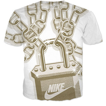 Chains And Lock Nike Shirt