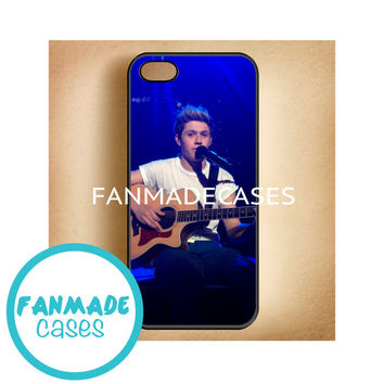 Niall Horan guitar msg iPhone 4/4s 5/5s/5c & iPod 4/5 Rubber Case