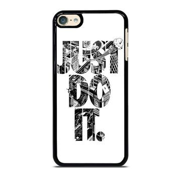 NIKE JUST DO IT TYPE iPod 4 5 6 Case