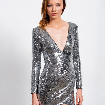 Show Stopper Sequin Dress