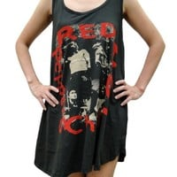 opm-clothing Red Hot Chili Peppers Rock band Singlet