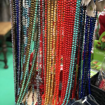 long beaded necklace (other colors)