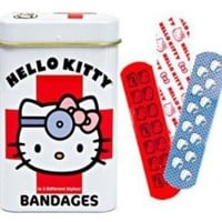 Hello Kitty Bandages(15 strips)