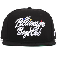 BB Script New Era Snapback Hat Black