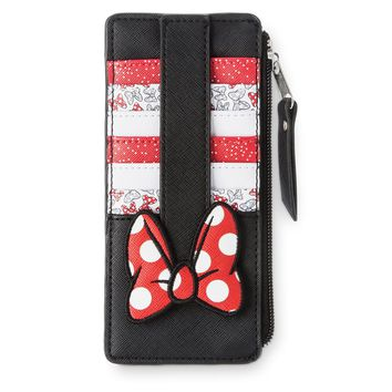 Disney Minnie Mouse Bow Wallet Credit Card New with Tags