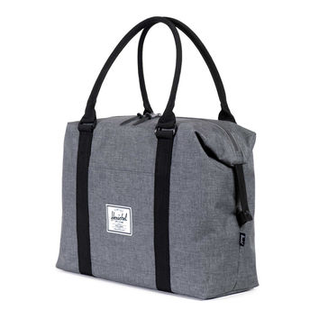 Herschel Supply Co.: Strand Duffle Bag - Charcoal Crosshatch