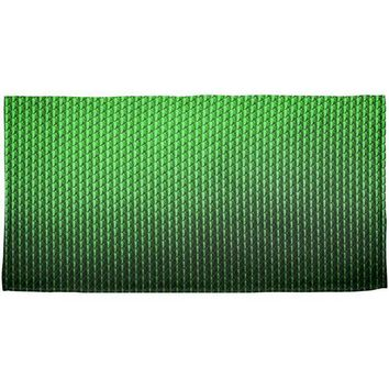 DCCKJY1 Halloween Green Earth Dragon Scales Costume All Over Beach Towel