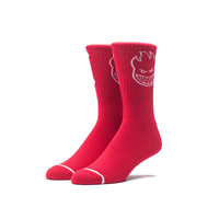 HUF - HUF X SPITFIRE CLASSIC H CREW SOCKS // RED