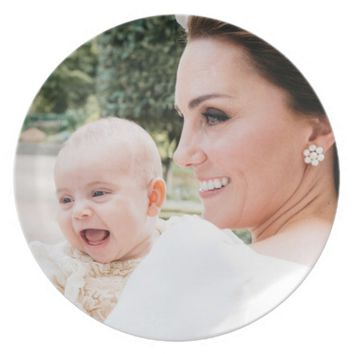 Duchess Kate and Prince Louis Dinner Plate