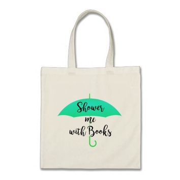 Shower me with Books Tote Bag