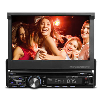 DP AUDIO VIDEO 7 In-Dash Touch Screen DVD Receiver with Bluetooth (DZP914)