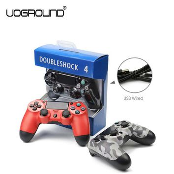 VOGROUND New For Sony PS4 Game Controller Joystick Gamepads USB Wired game controller For PlayStation 4