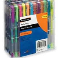 Fiskars Gel Pen 48-Piece Value Set